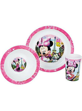 Disney Minnie Mouse Ontbijtsetje 3 delig