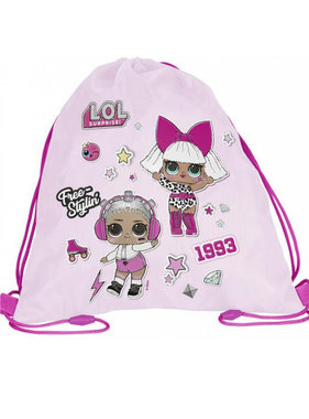L.O.L. Surprise Gym bag 34 x 45 cm - Copy