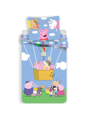 Peppa Pig Duvet cover Air balloon 140 x 200