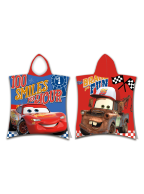 Disney Cars Poncho Fun 50 x 115