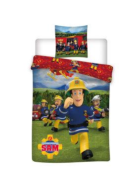 Brandweerman Sam Duvet cover Crew 140 x 200 cm