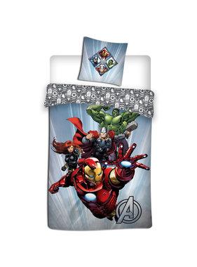 Marvel Avengers Dekbedovertrek 140 x 200 cm