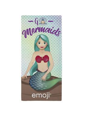 Emoji Zeemeermin Strandlaken 70 x 140 cm