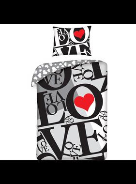 Valentines LOVE Duvet cover 140x200 cm