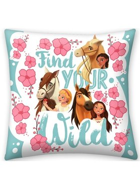 Spirit Find Your Wild cushion 40 x 40 cm
