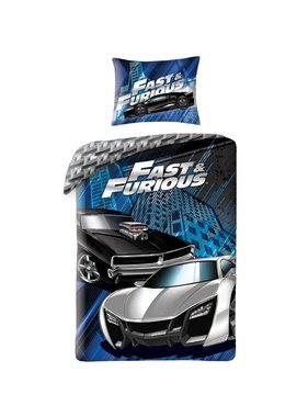The Fast and the Furious Duvet cover 140x200 cm