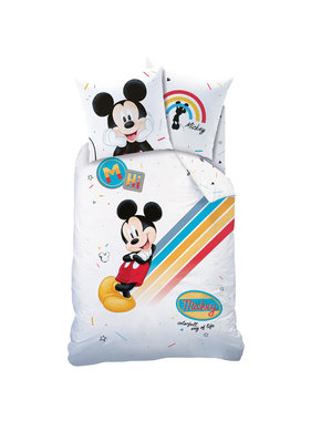 Disney Mickey Mouse Dekbedovertrek Colourful 140 x 200 cm