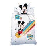 Disney Mickey Mouse Colorful - Duvet cover - Single - 140 x 200 cm - Multi