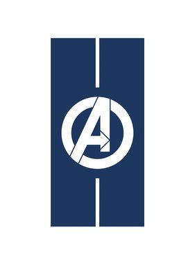 Marvel Avengers Strandlaken Logo - 75 x 150 cm