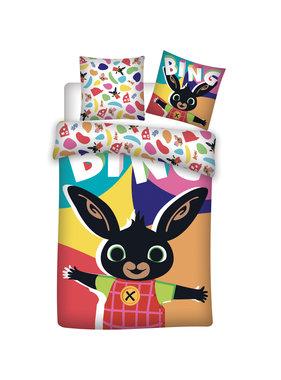 Bing Bunny Happy baby duvet cover 100 x 135 cm