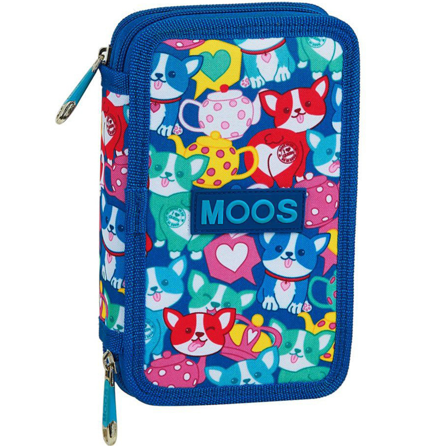 MOOS Corgi - Filled Case - 28 pieces - blue