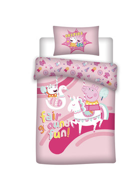 Peppa Pig Duvet cover Unicorn 140 x 200 cm