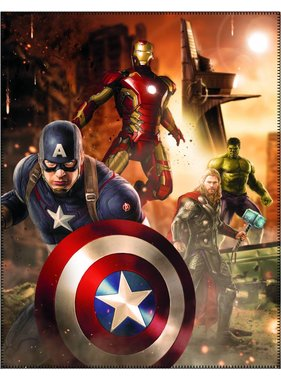 Marvel Avengers Plaid Age of Ultron