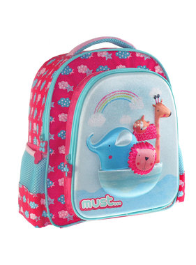 Must 3D Backpack Noah's Ark 31 cm