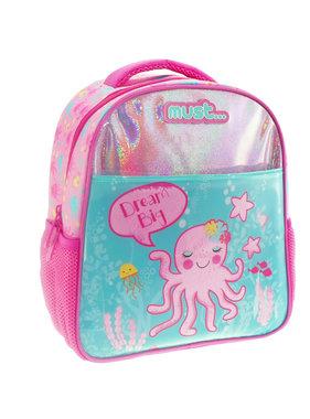 Must Octopus Rugzak + etui 31 cm