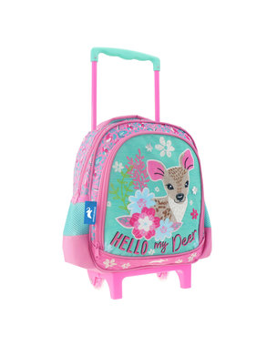Animal Planet Deer Backpack Trolley 31 cm