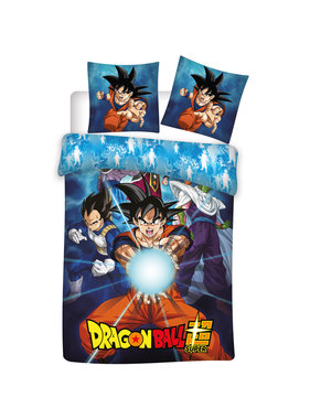 Dragon Ball Z Dekbedovertrek polyester Super 140x200cm + 63x63cm