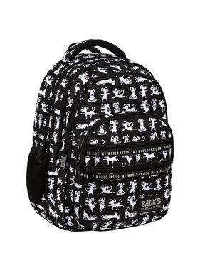 Back Up Backpack Yoga Dogs 42 cm
