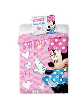 Disney Minnie Mouse Sweet BABY duvet cover 100X135 + 40X60cm. 100% cotton