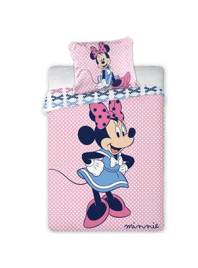 Disney Minnie Mouse Dots BABY dekbedovertrek 100x135 + 40x60 cm