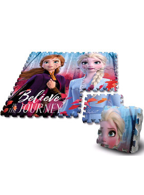 Disney Frozen vloerpuzzel foam - 9 delen