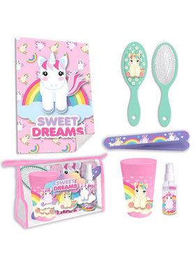 Unicorn Toilet Travel Set - 6-piece
