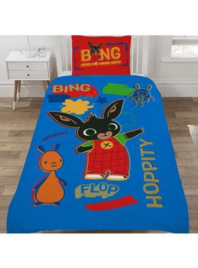 Bing Bunny Dekbedovertrek Rebel Rules 135 x 200 cm