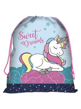 Unicorn Sweet Dreams Gymbag 44 x 34 cm