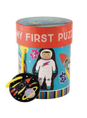 Floss & Rock Space puzzles 4 pieces