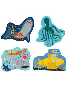 Floss & Rock Ocean puzzles 4 pieces