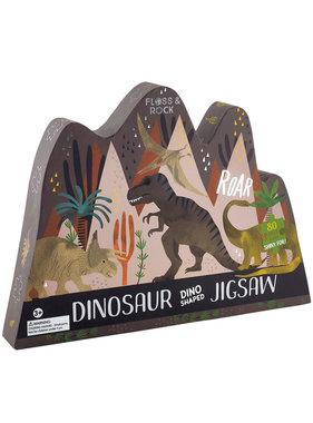 Floss & Rock Dinosaur puzzle 80 pieces