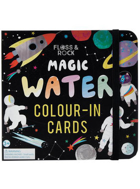 Floss & Rock Space water color cards