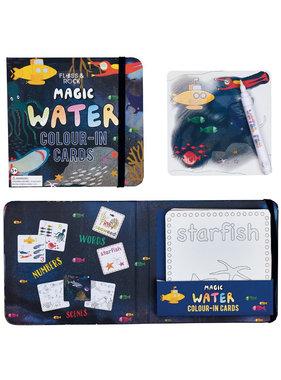 Floss & Rock Ocean Water color cards