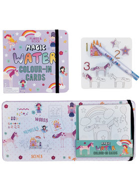 Floss & Rock Fairy Unicorn Water color cards