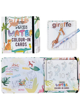 Floss & Rock Jungle Water color cards