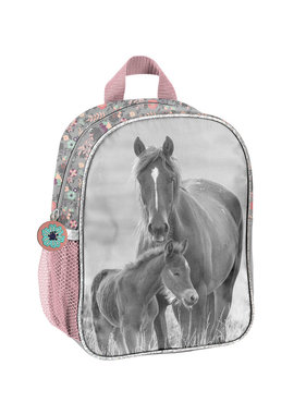 Animal Pictures Horses Toddler backpack 28x22x10