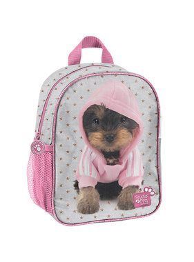 Studio Pets Hooded puppy Peuter Rugzak 28 cm