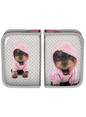 Studio Pets Hooded puppy Filled pouch 19.5 cm