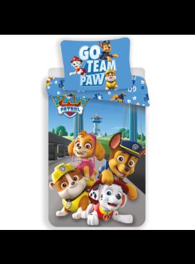 Paw Patrol Go Team Paw duvet cover 140x200cm 70x90cm