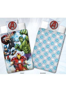 Marvel Avengers Dekbedovertrek Flanel Team 140 x 200