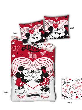 Disney Minnie Mouse Dekbedovertrek Love You 140 x 200