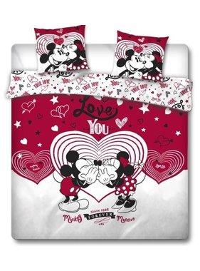 Disney Minnie Mouse Dekbedovertek Love You 240 x 220 cm