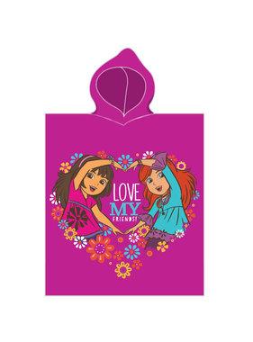 Dora Poncho Love my friends 50 x 115 cm