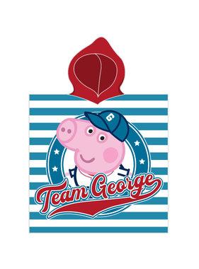 Peppa Pig Poncho team George 50 x 115 cm