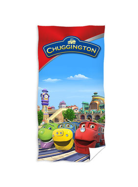 Chuggington Beach towel Station 70 x 140 cm
