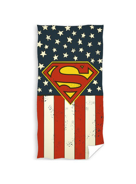 Superman Strandlaken Flag 70 x 140 cm