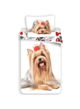 Animal Pictures Dekbedovertrek Yorkshire Terrier 140 x 200