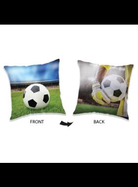 Voetbal Cushion 40 x 40 cm