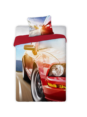 Turbo Car Duvet cover 140 x 200