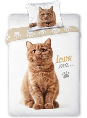 Animal Pictures Duvet cover Love Me 140 x 200
